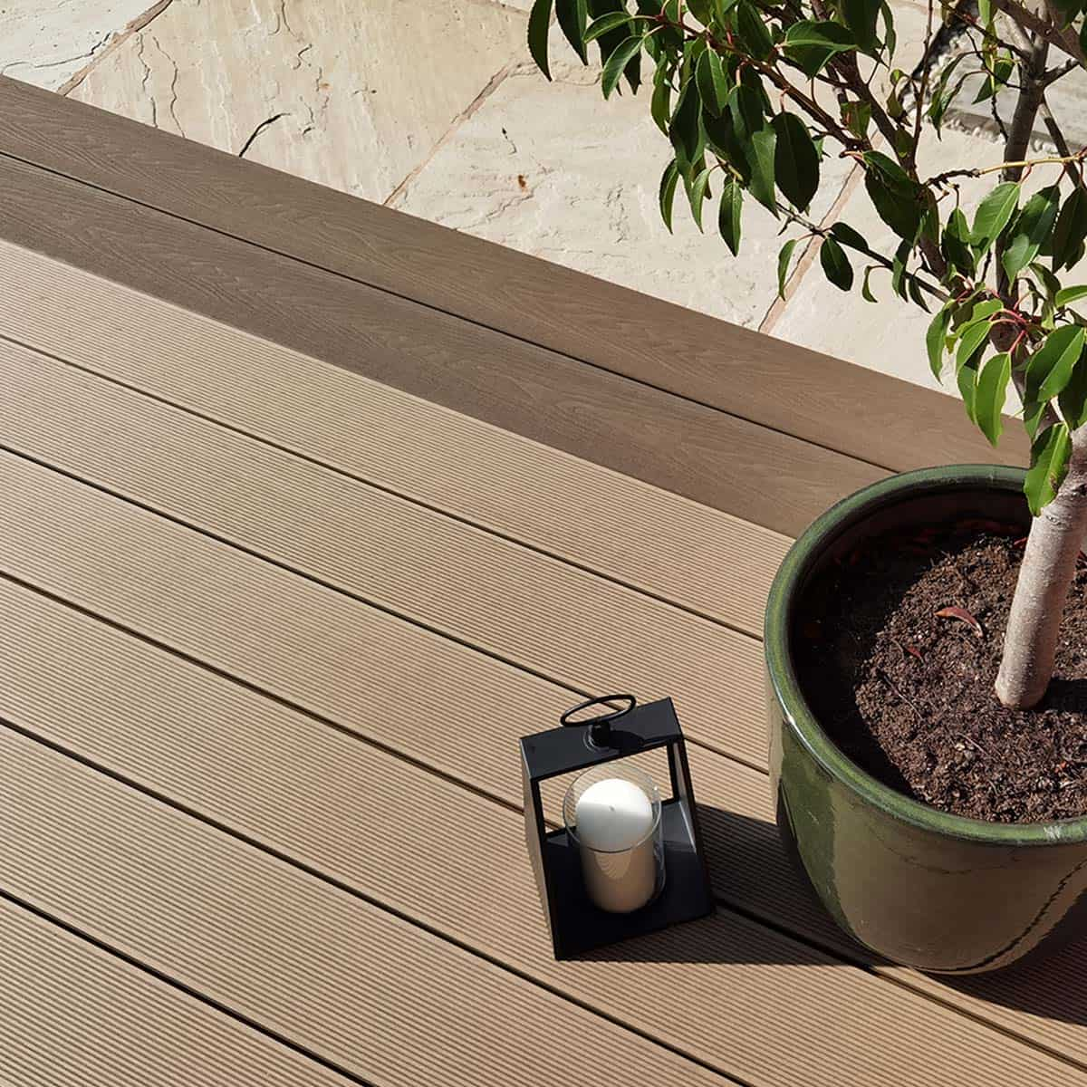 Essential Teak Composite Decking BUY NOW