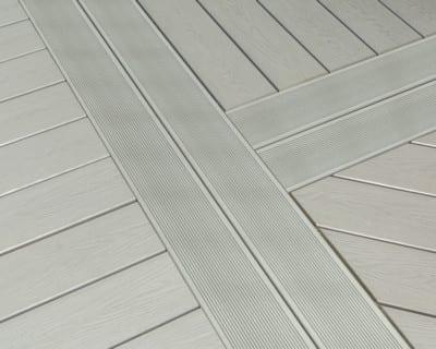 Slip Resistant Composite Decking