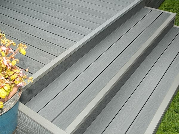 fixing composite decking