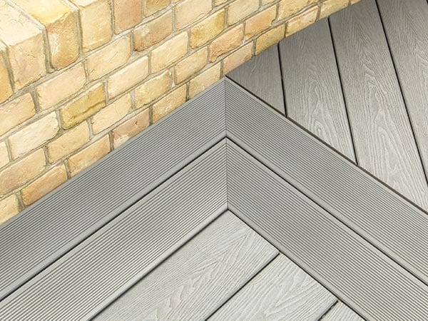 Picture Framing Grey Decking