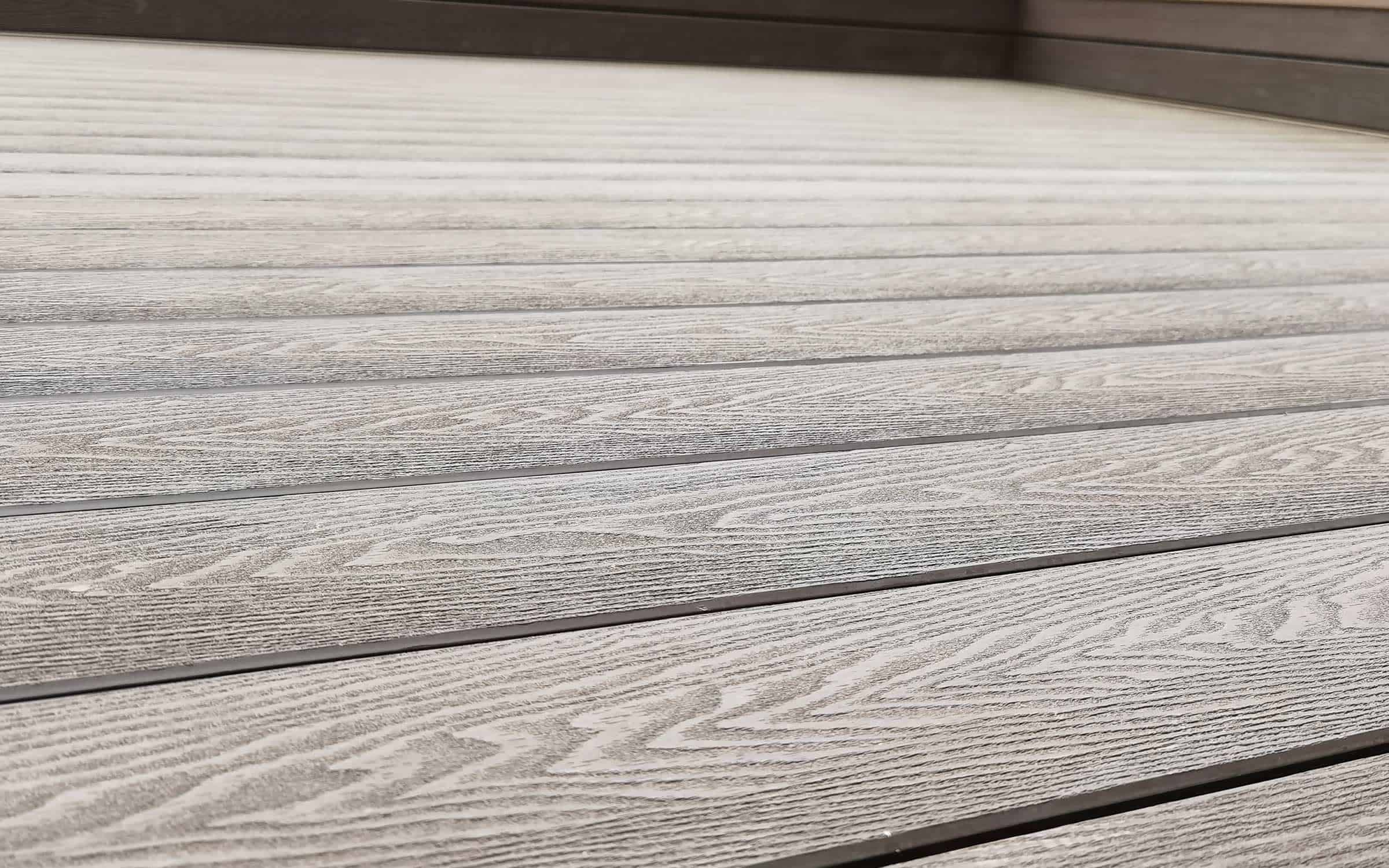 traditional composite decking